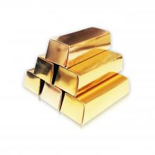 Gold Bar Shape Box
